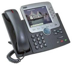IP-телефон Cisco CP-7970G (некондиция, сломана подставка)