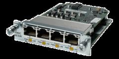 """Модуль Cisco HWIC-4ESW.Состояние """"used""""."""