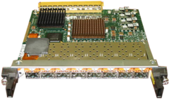 "Модуль Cisco SPA-8X1GE.Состояние ""used""."