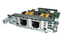 """Модуль Cisco VIC-2FXO.Состояние """"used""""."""