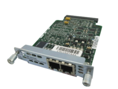 """Модуль Cisco VIC2-2FXO.Состояние """"used""""."""