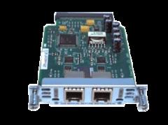 """Модуль Cisco VIC2-2FXS.Состояние """"used""""."""