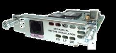 "Модуль Cisco WIC-1ADSL.Состояние ""used""."