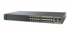 "Коммутатор Cisco Catalyst WS-C2960-24TC-L.Состояние ""used""."