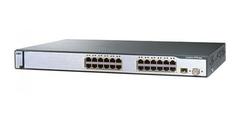 "Коммутатор Cisco Catalyst WS-C3750-24TS-S.Состояние ""used""."