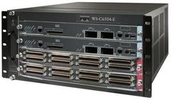"""Шасси Cisco Catalyst WS-C6504-E.Состояние """"used""""."""