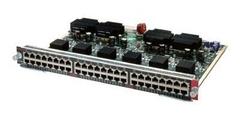 "Модуль Cisco Catalyst WS-X4548-GB-RJ45.Состояние ""used""."