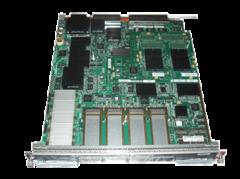"""Модуль Cisco Catalyst WS-X6704-10GE (некондиция, 1 неисправный порт).Состояние """"used""""."""
