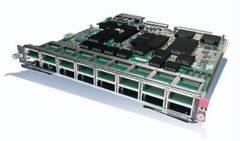 """Модуль Cisco Catalyst WS-X6716-10G-3CXL (некондиция, потери на портах с 1 по 4).Состояние """"used""""."""