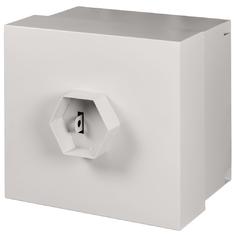 EC-WS-095650-GY Настенный антивандальный шкаф, 9U, Ш562хВ556хГ506мм, с замком ВС4 Арико, серый, (ШТА-9-298)